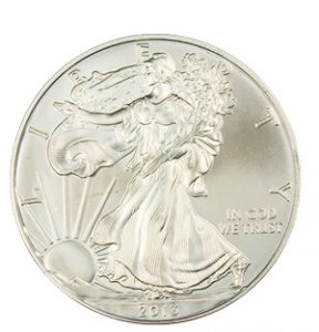View the Silver American Eagle coin