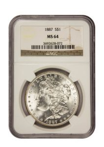 Silver Morgan Dollar
