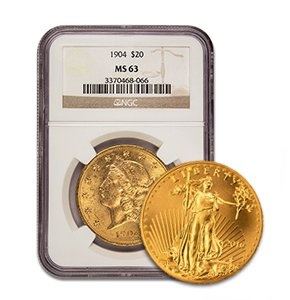 Gold Coins and Silver Coins in Phoenix