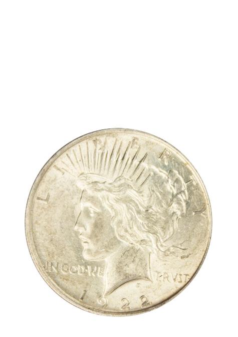 Circulated Peace Dollar
