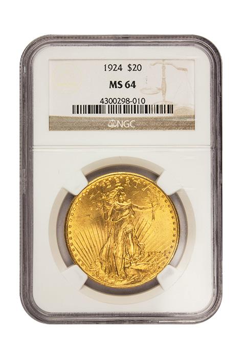 $20 St. Gaudens