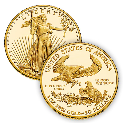 Gold American Eagle Coins in Phoenix