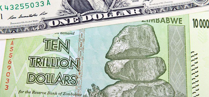 100 trillion Zimbabwean Dollars
