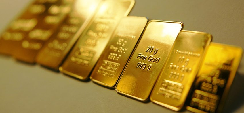 gold bars for diversification